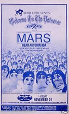 "30 SECONDS TO MARS ""WELCOME TO THE UNIVERSE TOUR"" 2002 SAN DIEGO CONCERT POSTER"