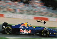 Karl Wendlinger Hand Signed Red Bull Sauber Ford F1 Photo 12x8 2.