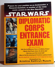 1997 Star Wars Diplomatic Corps Entrance Exam Softcover Book-120 Pages- UNREAD
