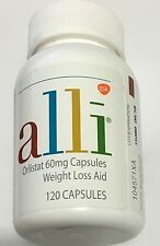 Alli Orlistat  Weight Loss Aid 120 60 mg capsules