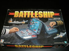 Battleship Classic Naval Combat Board Game Milton Bradley 1998 100% Complete