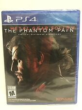 Metal Gear Solid V The Phantom Pain PS4 Video Game NEW