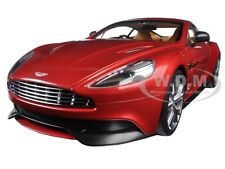 ASTON MARTIN VANQUISH VOLCANO RED 1/18 MODEL CAR BY AUTOART 70249