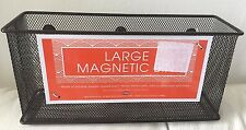 Mesh Magnetic Locker Magnetic Safe Space Storage Box Bin Black  byMSA NEW NEW