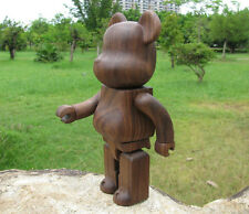 100%(7cm) Black Walnut Wood Bearbrick Be@rbrick