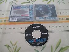 RAYXANBER SHOOT DATA WEST MARTY FM TOWNS JAPAN IMPORT!