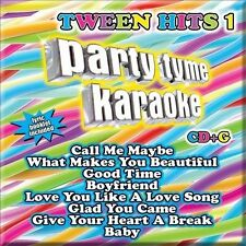 New Sealed 2012 Tween Hits 1 Party Tyme Karaoke CD+G Lyric Booklet Included