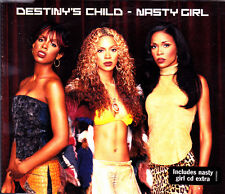 DESTINY'S CHILD - NASTY GIRL CD SINGLE 4 TRACKS 2002 EXCELLENT CONDITION
