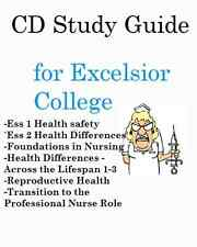 Test Prep Bundle CD Study Guides for Excelsior College Nursing Theory Exams