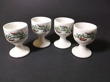 Crown Ducal Chinese Garden egg cups