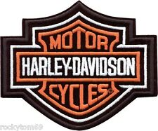 "Harley-Davidson® Bar and Shield Patch MD EMB302383 5 5/8"" x 4 5/8"""