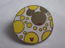 Disney's Yellow & Silver Mickey Mouse Pin Badge