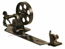 "INDUSTRIAL SEWING MACHINE BOBBIN WINDER LARGE WHEEL 3"" SINGER BROTHER HEAVY DUTY"