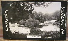 AT LUCAN SPA Dublin Cigarette Card GALLAHER IRISH VIEWS 111 Ireland Photo Blk Pt