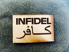 Infidel Leather Velcro - US Ranger, ODA, Special Forces, Infantry, USMC Sniper