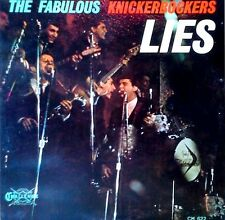 THE FABULOUS KNICKERBOCKERS - LIES - CHALLENGE LP - MONO PRESSING