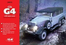 ICM 1/24 Mercedes G4 with Open Cover WWII German Personnel Car # 24012