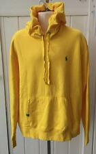 Ralph Lauren mens polo hoodie sweatshirt pullover jacket large yellow $98 nwt