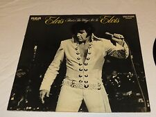 Elvis Presley That's the way it is RCA LSP-4445 1970 LP Album RARE Record vinyl
