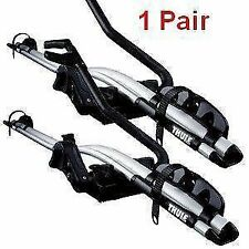 2x-Thule-591-ProRide-Roof-Mount-Cycle-Bike-Carrier 20KG LOCK T-Track *New