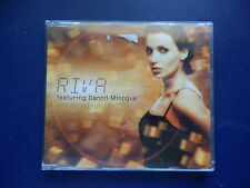 Rive featuring Dannii Minogue Who do you love now 3 track + video 2001 CD single