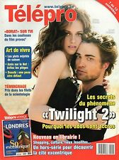 french magazine Télépro N°2905 kristen stewart robert pattinson 2009