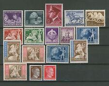 D.Reich - MiNr. 781-798 und  811-908 - postfrisch
