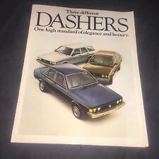 1978 VW Volkswagen Passat Dasher USA Market Brochure Catalog Prospekt