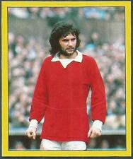 PANINI FOOTBALL 88-#286-MANCHESTER UNITED-GEORGE BEST