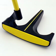New* Left Handed Stingray Golf Putter Yellow Insert Yellow Graphite Shaft LH 35""