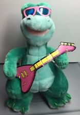 Denver the Last Dinosaur Plush Toy VINTAGE 1988 Matchbox Stuffed Animal & Guitar