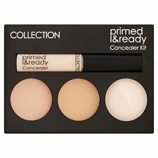 COLLECTION Primed & Ready Concealer Kit Liquid & Cream + Setting Powder Palette!