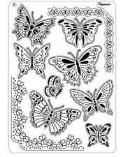 Pergamano Parchment Craft Multi Grid 17 - Pretty Butterflies, Corners