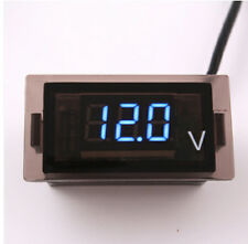 DC 12V-24V Car Truck Motorcycle LED Digital Display Voltmeter Waterproof Meter