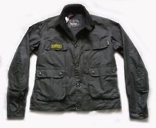 "BRAND NEW BARBOUR "" OSCAR "" WAX JACKET - XXL STEVE MCQUEEN MOTORCYCLE RANGE £229"