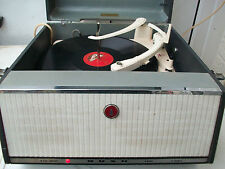 Bush SRP 31C Valve Record Player Garrard Model 210 4-Speed Turntable GC8 Crystal