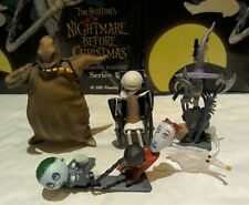 The Nightmare Before Christmas trading figures series 1 set of 4 Tim Burton