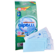 18 PCS Laundry Detergent Sheets Non-bio Travel Pack Washing Powder in a Sheet