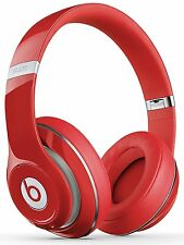 Beats by Dr. Dre Studio 2.0 Headband Over Ear Headphones - Red