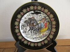 "Villeroy & Boch Russia Fairy Tales No. 2 Heinrich Troika 8 1/2"" Collector Plate"