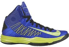 NEW Nike LUNAR HYPERDUNK 2012 sz 18 ROYAL BLUE LIME GREEN Sneaker Shoe