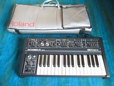 Roland SH-09 Analog Monophonic Synthesizer with Original Case  80s Vintage - B06