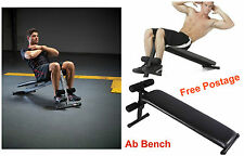 Abdominal Exercise Six Pack Muscle Toning Ab Fitness Bench Home Gym Abs Machine