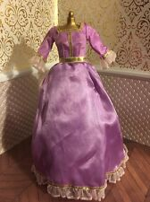 Belle Purple Dress Gown Shoes Beauty & Beast Disney Princess Doll Barbie Deluxe