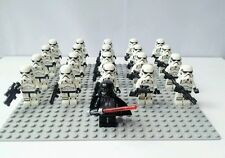 Star Wars Darth Vader AND X10 Stormtrooper minifigures COMPATIBLE W/LEGO NEW!!!