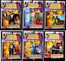 Toy Biz Marvel Comics Hall of Fame Series 2  Action Figure 6 Figure Set New 1996