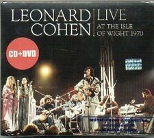 CD + DVD LEONARD COHEN LIVE AT THE ISLE OF WIGHT 1970