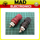 10 x Heavy duty Binding Post 50Amp Red and Black Pair
