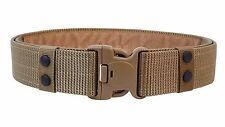 Alaix MEN'S 55mm Nylon Tactical Cintura Regolabile Rescue dovere non in Metallo Khaki