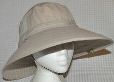 BNWT Adult Unisex Lightweight Booney Hat (Khaki) with Sun protection - One Size